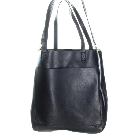 2a78dccac00d Madewell Handbags - Madewell Medium Transport Tote Handbag In Black